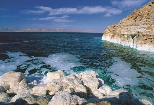 The Dead Sea in Jordan, lowest point on earth - Jordan