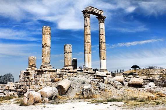 Tourist sites in Jordan